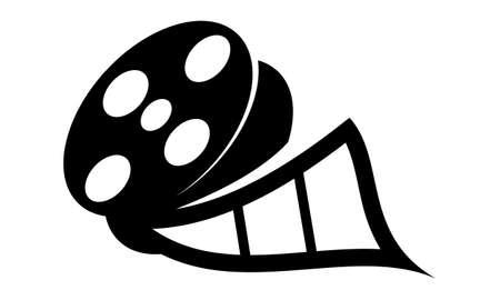 Star Movie Studio Logo Vector illustration.