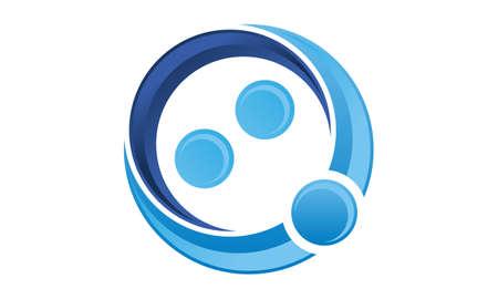 Mediation Logo Design Template Vector