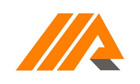 Letter M R illustration good for logo. Ilustração