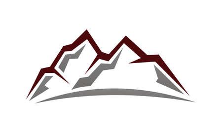 Mountain Logo Design Template Vector  Illustration
