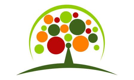 Tree Conservation Template illustration good for logo.