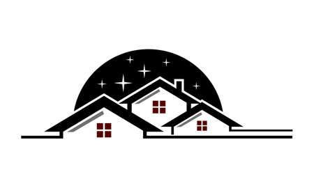 Real Estate Success illustration good for logo.