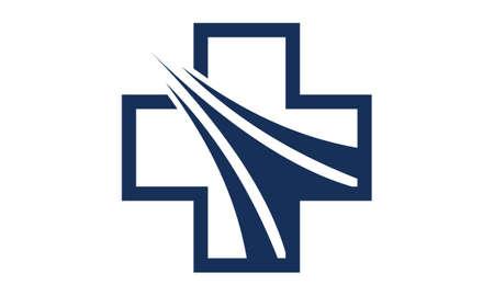 Health Solution Logo Design Template Vector