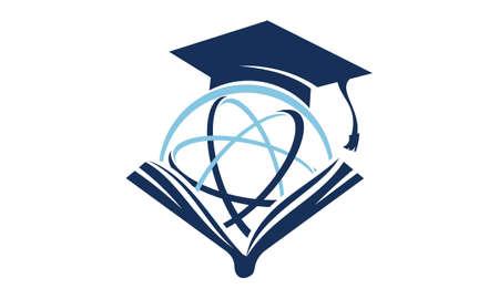 World Education Logo Design Template Vector 写真素材 - 90818746