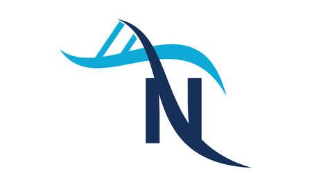 글자 N DNA