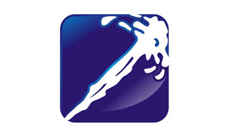 Water Splash Logo Design Template Vector 向量圖像