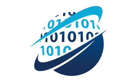 グローバル ソフトウェア開発。  イラスト・ベクター素材