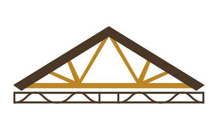 Inżynieria drewna Logo szablon wektor.