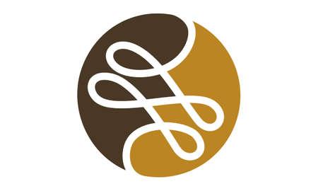 Schneider Thread Logo Design Vorlage Vektor. Standard-Bild - 91011780