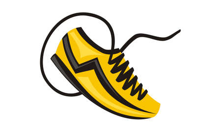 Sport Shoes Icon. Illustration