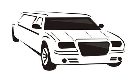 Limousines Logo Design Template Vector