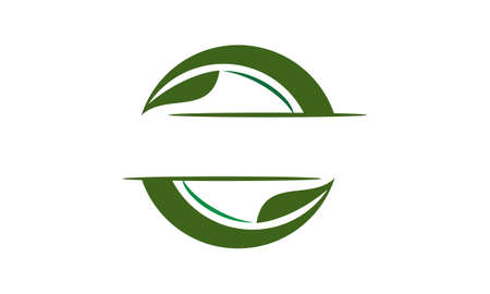 Green Project Solution Center Stock Illustratie