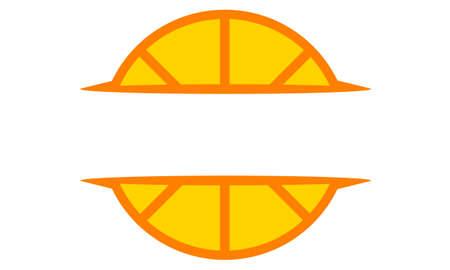 Template Emblem Blank logo