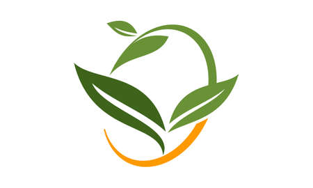 Green Leaf Logo Design Template Vector