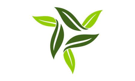 Green Leaf Rotation logo
