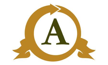 Modern symbol Solution Letter A