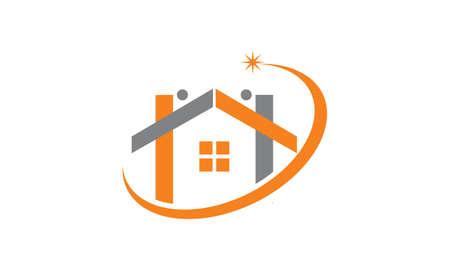 Home Real Estate Illustration
