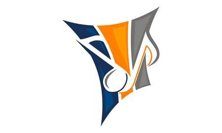 Piano leren Logo ontwerpsjabloon Vector