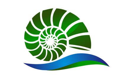 Sea Shell Modern Banco de Imagens - 91089962