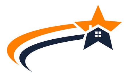 Real Estate Solution logo Vector illustration.