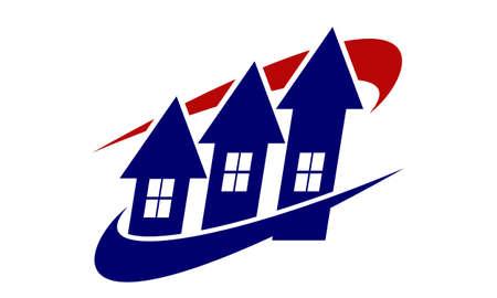 Home Investment logo Vector illustration. Illustration