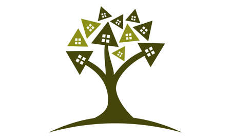 Tree of House icon