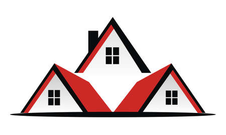 Real Estate Roof Vector