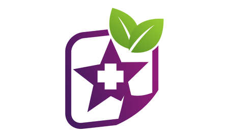 healthy Medical Report icon logo vector illustration.