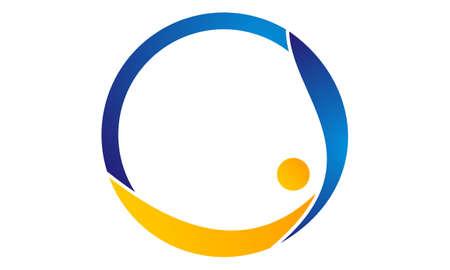 Coaching Success Life icon logo vector illustration. Çizim