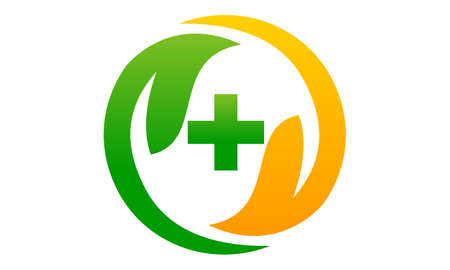 Health life Nutrition icon logo vector illustration.