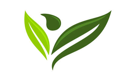 Eco Life Healthy icon logo vector illustration.