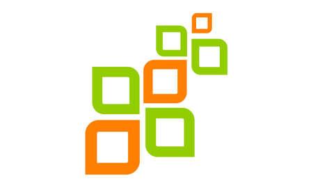 Gezondheid leven organische pictogram logo vectorillustratie.