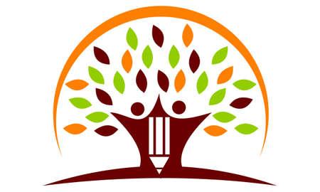 Happy Hall School Solutions icon logo Vector illustration. Illustration
