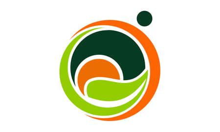 Life Healing Center icon Vector illustration.