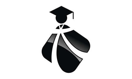 Education Consulting Center icon Vector illustration.