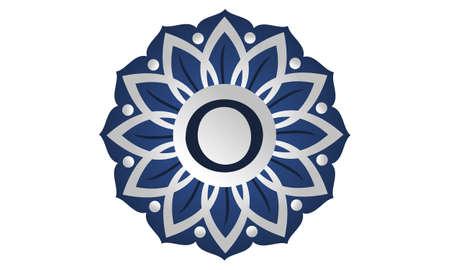 Flower Elegant icon Initial O