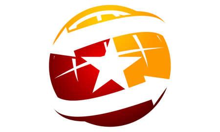 Global Talent symbol template design. Illustration
