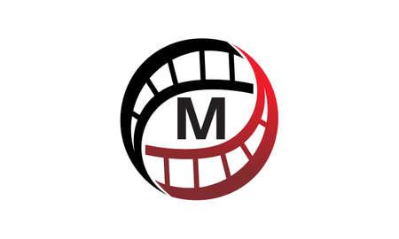 Film Solutions Initial M logo