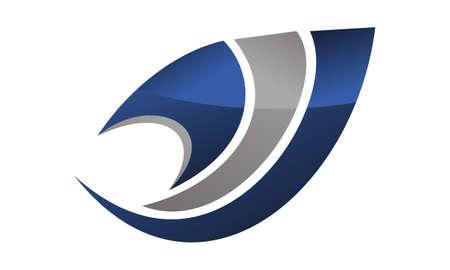 Expertise solutions center logo concept design illustration.
