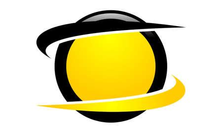 Emblem Template Blank Swoosh