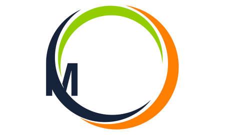 Moderne Icon Solution Buchstabe M Standard-Bild - 91700490