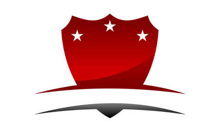 Shield Emblem Template Blank