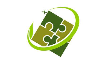 Global Ecology Solution Community Vettoriali