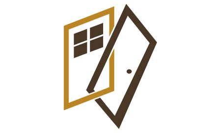 Door and Windows Ilustração