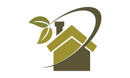Eco Home Insulation Illustration