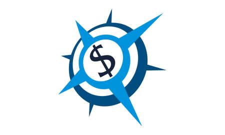 Dollar Advisory Logo Design Template Vector Stock Vector - 91720301