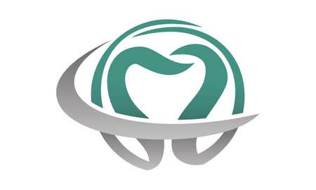 Dentist symbol template design. Illusztráció