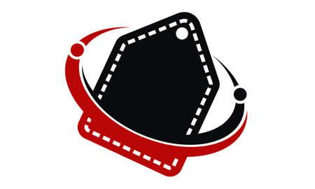 Discount icon illustration. 일러스트