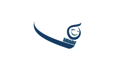 Healthy dental care icon design.