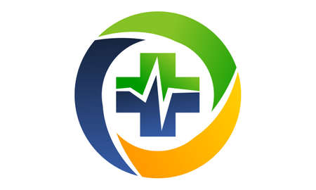 Health Center Logo Design Template Vector
